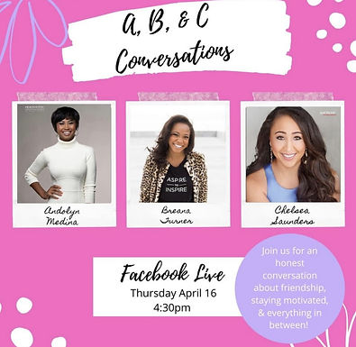 ABC Conversation to reflect on Friendship, Ambition and Everything in between