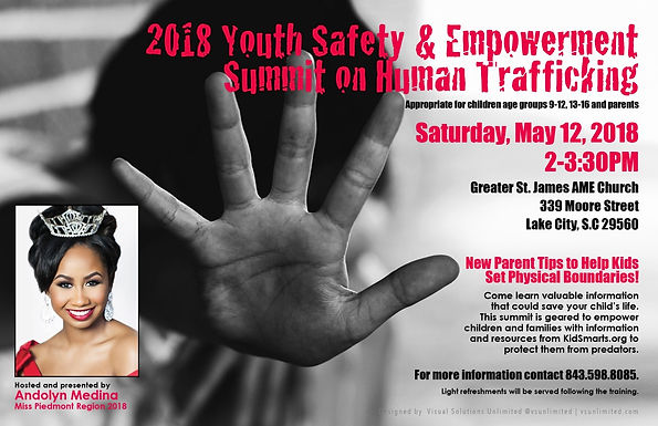 2018 Youth Safety/Empowerment Summit on Human Trafficking