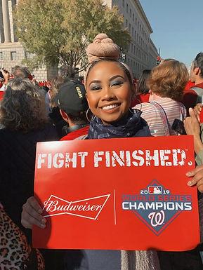 The Washington National Championship Parade 2019