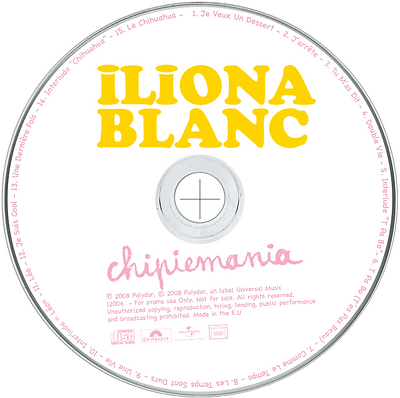 Iliona Blanc, iliona, blanc, french kiss, chipiemania,  french singer songwriter, french actress, gabonese singer