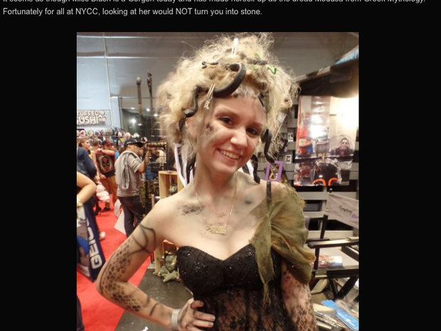 Comic Con 2016-Piercing Metal Coverage