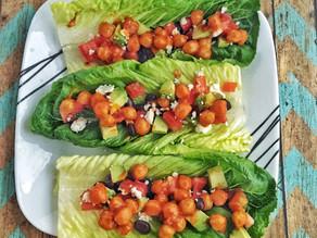 Meatless Monday Recipe: Buffalo Chickpea Lettuce Wraps