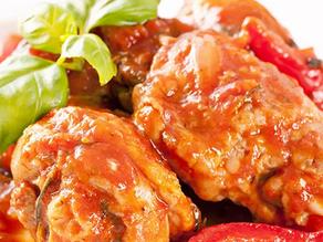 Healthy Chicken Cacciatore