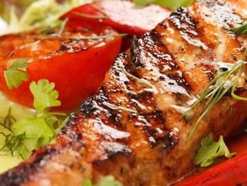 Recipe: Teriyaki Glazed Salmon from Blue Pacific Grill