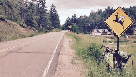 take flight on a bike (Deer Creek Canyon, 2015)