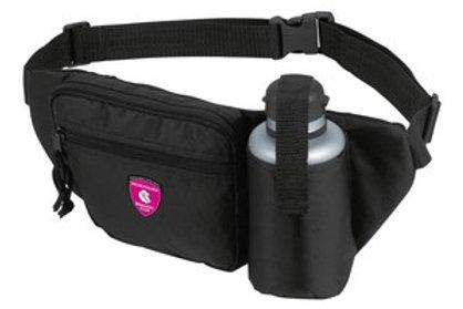 Vyö-/selkälaukku juomapullolla