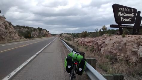Prescott National Forest between Prescott and Ash Fork, AZ (2015)