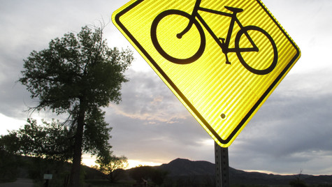Lightning and Cycling (Bear Creek Lake State Park, 2015)