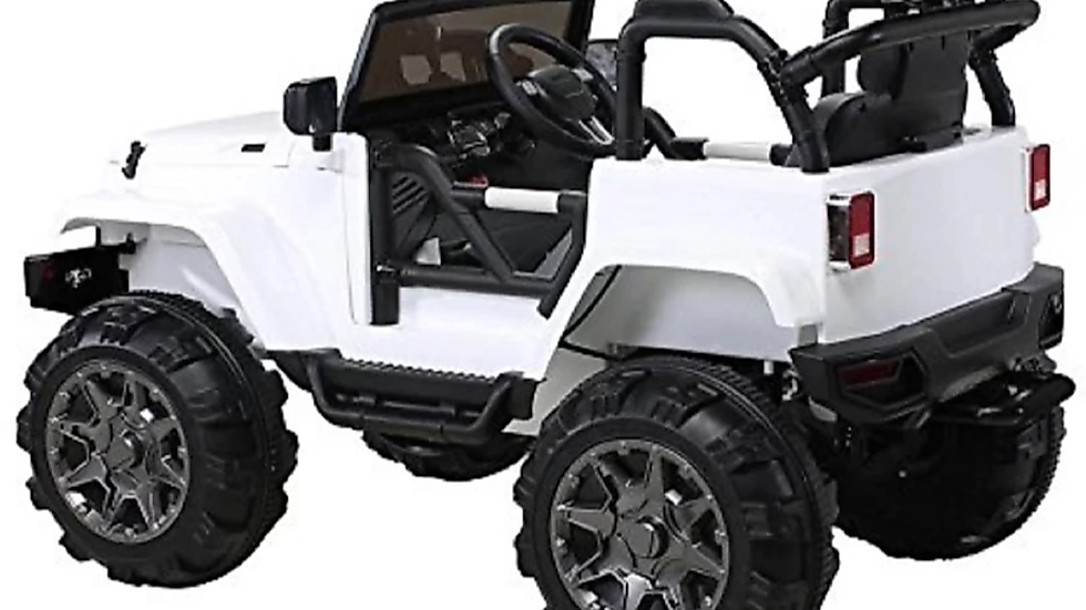 Battery operated jeep on Rent White