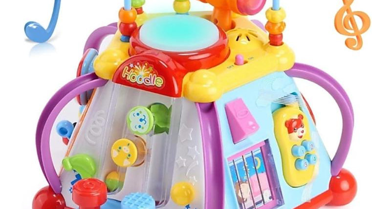 Hola Multipurpose Activity Toy Play Center for kids  (Multicolor)