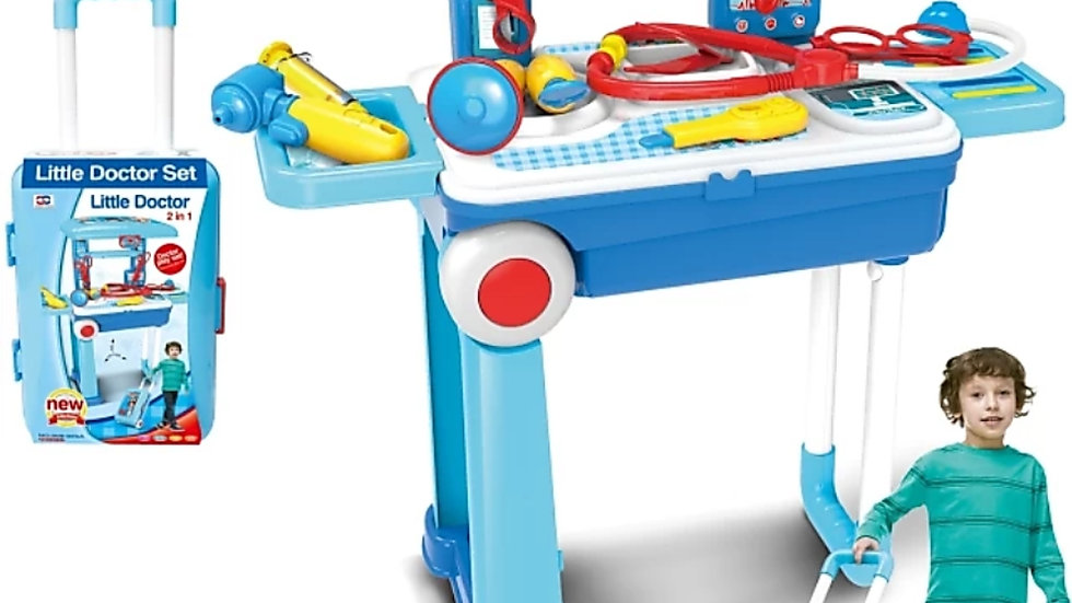 Doctor set trolley toy