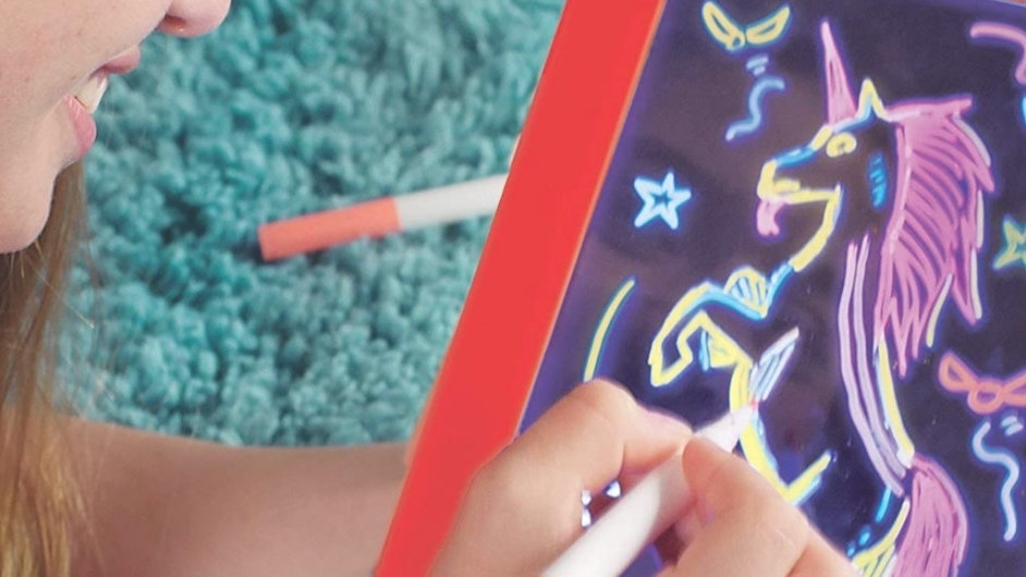 Drawing magic pad light up LED board