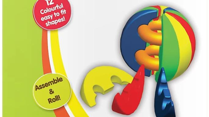 Funskool Activity Ball  (Multicolor)