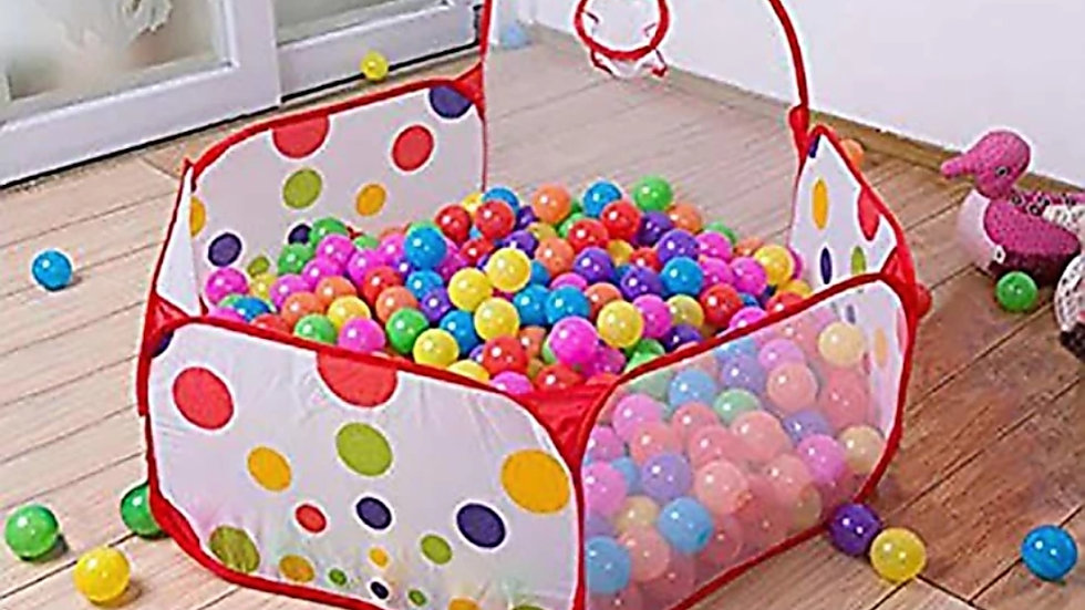 Play zone tent with 20 balls