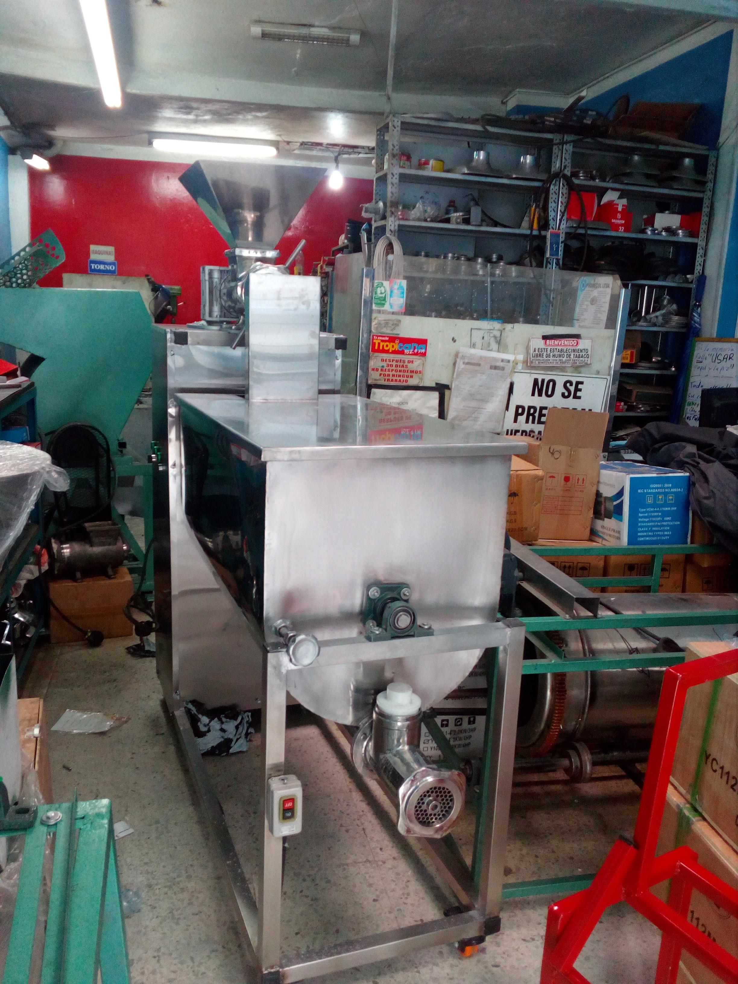 molino mezclador embutidor