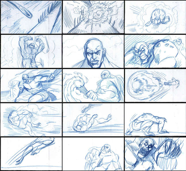 Storyboad Page 07 Ancients & Immortals