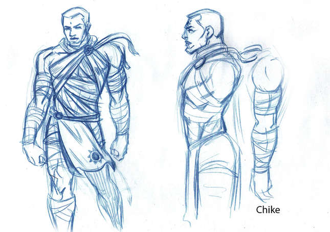 Chike Concept Drawing 03