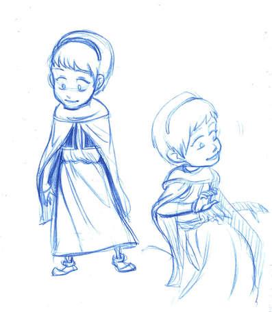 Concept Drawing 07 Prophet's Visit