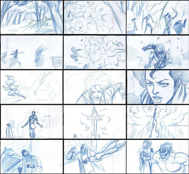Storyboad Page 10 Ancients & Immortals