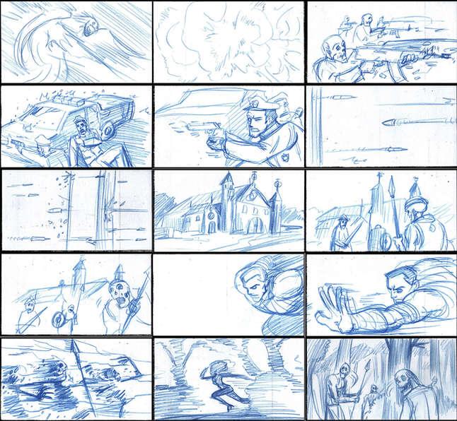 Storyboad Page 09 Ancients & Immortals