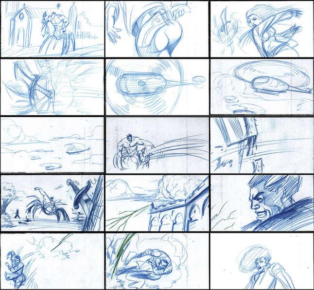 Storyboad Page 11 Ancients & Immortals