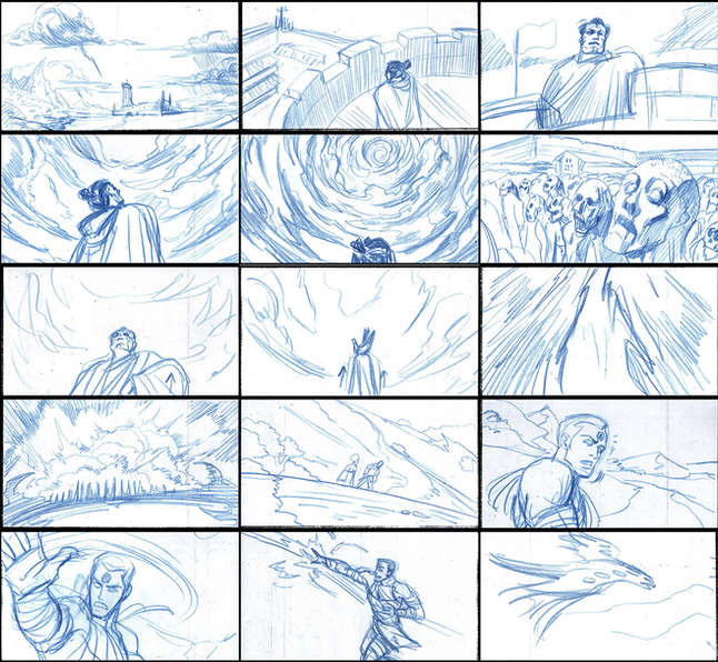 Storyboad Page 08 Ancients & Immortals