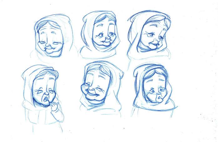 Concept Drawing 11 Prophet's Visit
