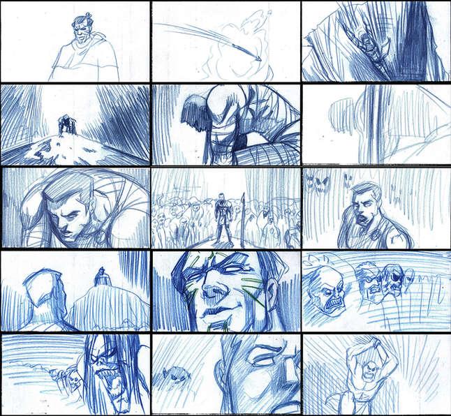 Storyboad Page 13 Ancients & Immortals