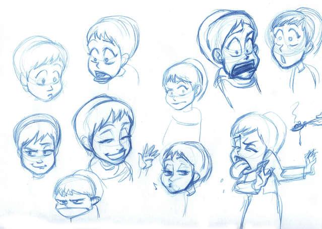 Concept Drawing 09 Prophet's Visit