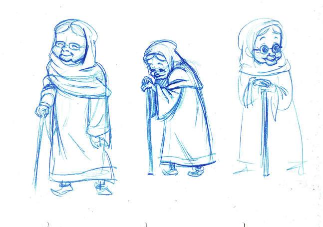 Concept Drawing 12 Prophet's Visit