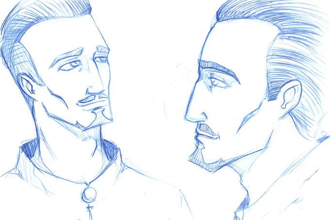 Concept Drawing 13 Prophet's Visit