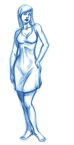 Concept Drawing 06 Hidden Holster