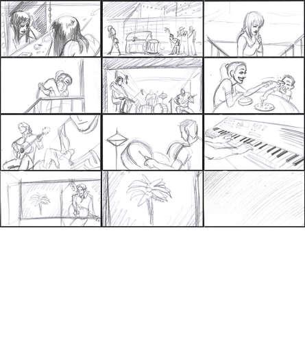 Storyboad Page 07 El Sol No Aparecio