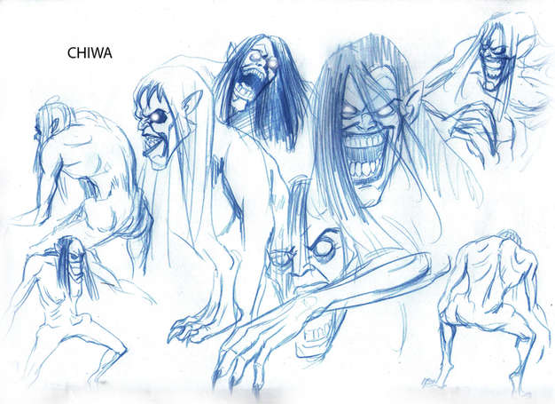 Monsters Concept Drawing 01
