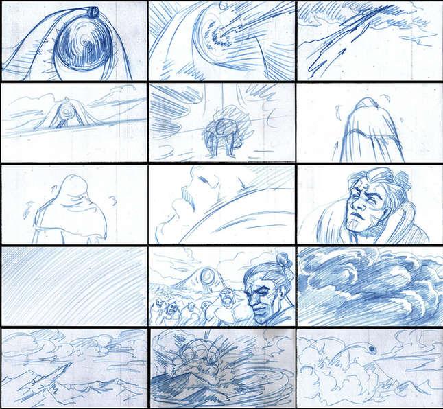 Storyboad Page 06 Ancients & Immortals