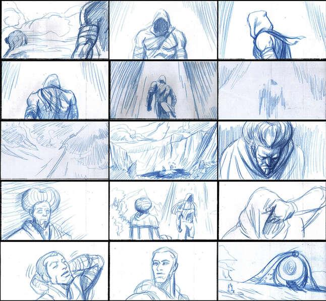 Storyboad Page 05 Ancients & Immortals