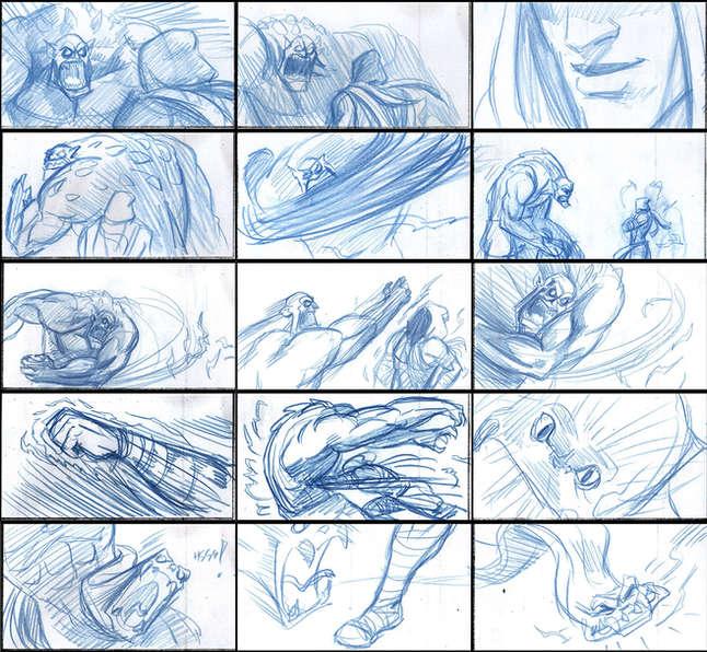 Storyboad Page 03 Ancients & Immortals
