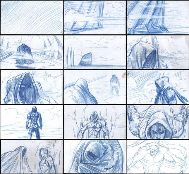 Storyboad Page 02 Ancients & Immortals