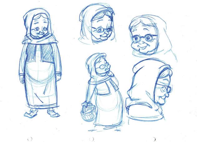 Concept Drawing 10 Prophet's Visit