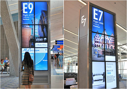McCarran Airport Video Wall Design