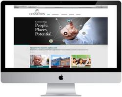 Sharing Connexion Website Design