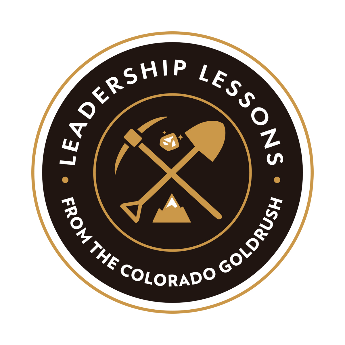 Leadership Lessons/CO Goldrush Logo