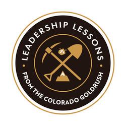 Leadership Lessons/CO Goldrush Logo