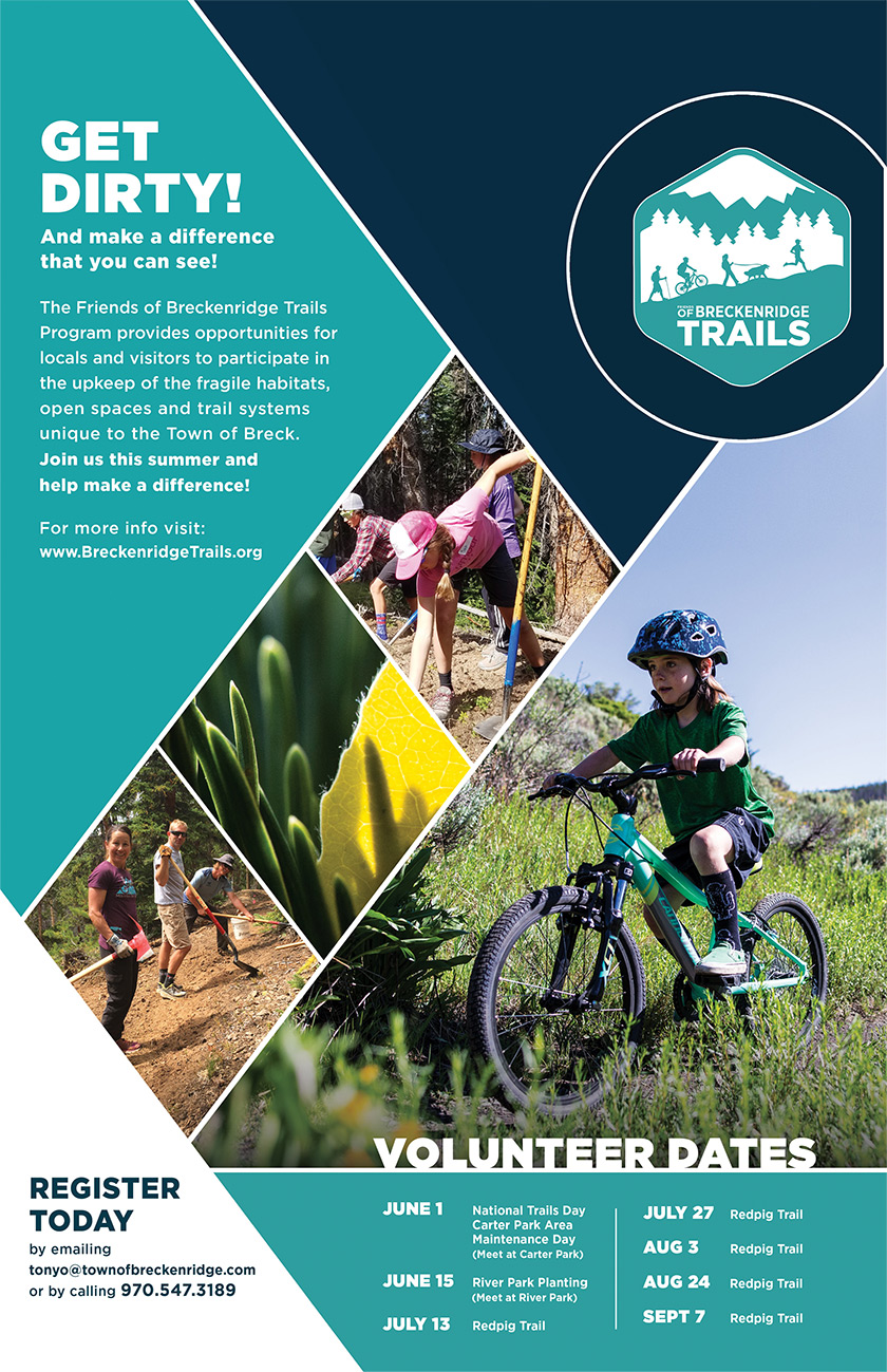Breckenridge Trails Poster 2019