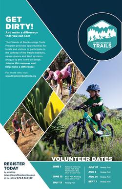 Breckenridge Trails Poster 2019