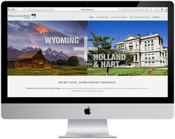 Holland & Hart Website Design