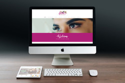 Alexas Luxe Lashes Website Redesign