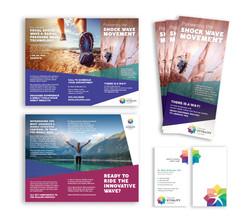 Denver Vitality Center Brochure and Business Cards