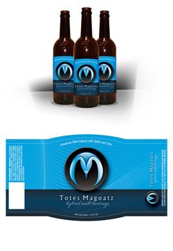 Totes Magoatz Label Design