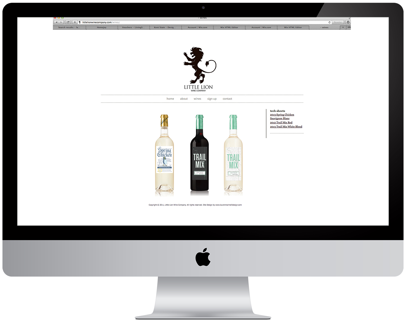 Little Lion Website Design